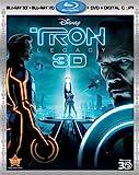Tron: Legacy (Four-Disc Combo: Blu-ray 3D / Blu-ray / DVD / Digital Copy)