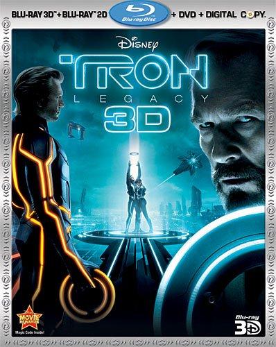 Tron: Legacy (Four-Disc Combo: Blu-…