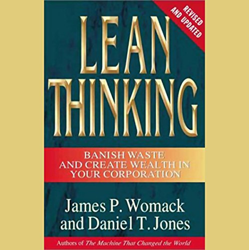 Lean Thinking audiobook cover art
