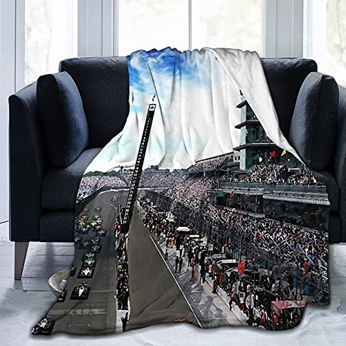 Back Home Again In Indiana Adults Kids Men Women Super Soft Fleece Blanket Christmas Bed Sofa Chair Flannel Throw Blanket 3D Printing All Seasons 50'X40'