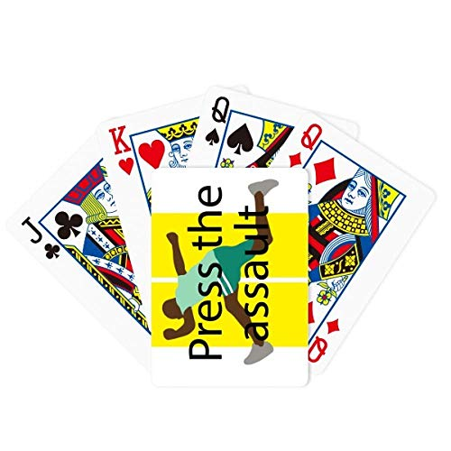 OFFbb-USA Press The Assault Poker Jugando a la carta Juego de mesa