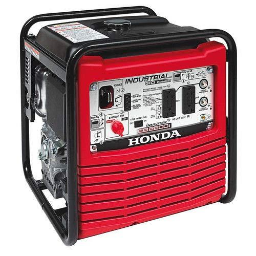 Honda Power Equipment EB2800IA Power Equipment, 2800W, 120V Inverter Portable Gas Generator, Steel