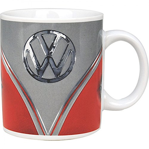 original Volkswagen VW Samba Bus Tasse Becher Kaffeetasse BULLI 1962 rot HMB