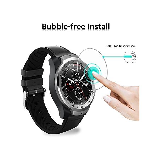 ivoler 4 Unidades Protector de Pantalla para Huawei Watch GT/Huawei Watch GT Active/Huami Amazfit Verge/Amazfit Verge… 5