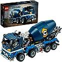 LEGO Technic Concrete Mixer Truck Toy Construction Set (1163 Pieces)