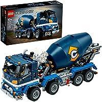 LEGO Technic Concrete Mixer Truck Toy Construction Set (42112) (1,163 Pieces) (2020 Model)