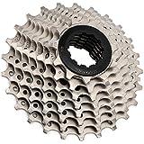 Pwshymi Rueda Libre para Bicicleta sin Ruido Acero al Cromo-molibdeno Resistente al Desgaste Cassette de Rueda Libre para Bicicleta 11-25T, para Bicicleta de Carretera, fácil de Mantener