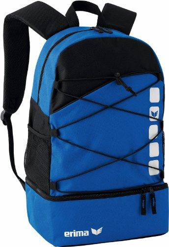 erima Multifunktionsrucksack mit Bodenfach, new royal/schwarz, One size, 16 Liter, 723340
