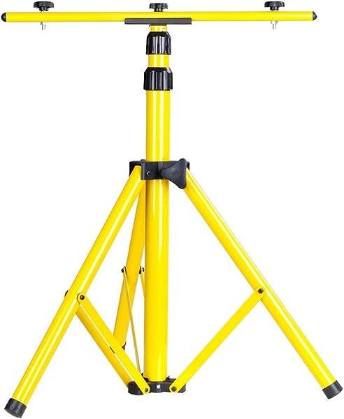Yescom Adjustable Work Light Tripod Stand For Flood LED Telescoping Portable Floodlight Camp Emergency Lamp