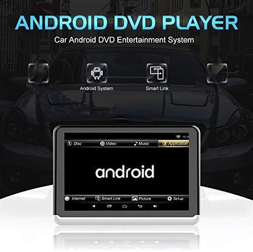 51zx8 jZ7hL - A10 coche universal Full HD pulgadas Android 6.0 10.1 del asiento trasero del coche del receptor de radio MP5, soporte del espejo Enlace / Wi-Fi / FM, soporte del espejo Enlace, sin DVD de reproducció