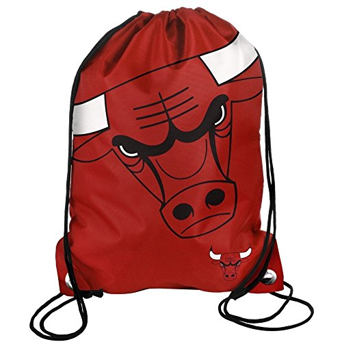 Forever Collectibles BPNB13DSCHAM, Zaino a Sacco, Chicago Bulls, Rosso, 49 cm