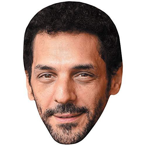 Celebrity Cutouts Tomer Sisley (Beard) Maske aus Karton