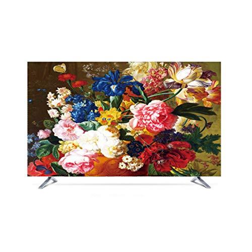 MFMYUANHAN TV De Impermeable TV Nordic LCD TV LCD Conjunto De Telas De Cubierta De Computadora De 55 Pulgadas 50 Curvas De 50 Pulgadas (Opciones De Tamaño Múltiple)(Size:49in,Color:1#)