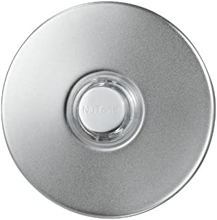 Broan-NuTone PB18LWHCL Doorbell Kit, Lighted Round Stucco Pushbutton for Home, 2.5