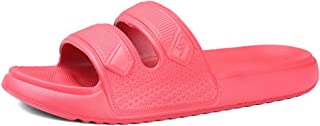 EQUICK Women and Men Shower Sandal Slippers Quick Drying Bathroom Shoes Non-Slip House Mule Pool Slide Water Shoes