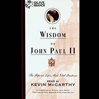 The Wisdom of John Paul II audiobook cover art