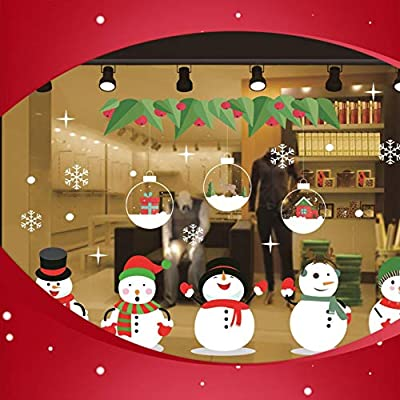 Amazon - Save 80%: Merry Christmas Wall Art Removable Home Vinyl Window Wall Stickers Dec…