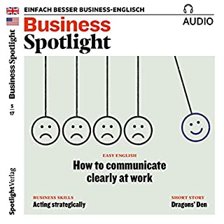 Business Spotlight Audio - Acting strategically. 5/2017 Titelbild