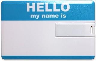 "LIXTICK USB CARD MEMORY ""HELLO"" カード型USBメモリー 8GB (Blue)"