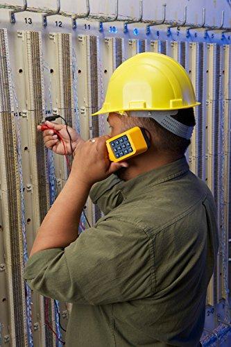 Fluke Networks TS19 Telephone Test Set with Banana Jacks to Alligator Clips 19800003