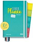 Lehrer-Planer 2020/2021 A5+ [Petrol] Hardcover Lehrerkalender Schuljahresplaner mit Sprüchen, Stickern und vielen nützlichen Features - smart & gut gelaunt das Schuljahr planen!