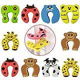 10Pcs Fermaporta,Sicurezza per Bambini Cuscino per Animali Fermaporta/Gomma Decorativa Protezione per Dito Gatto/Pizzico Protezione per Dito