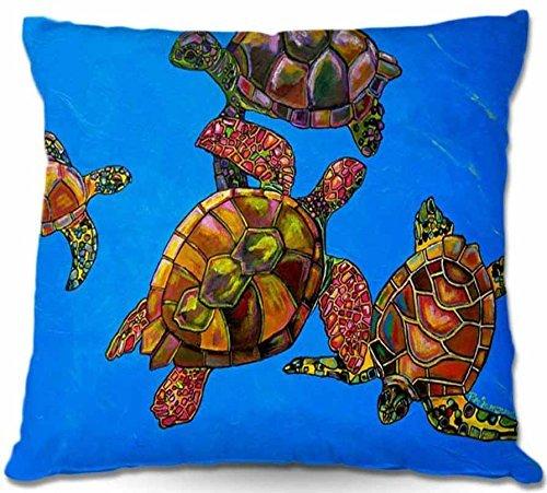 July Outdoor Patio Couch Wurfkissen Abdeckung BBQ Outdoor-IdeenPatti Schermerhorn Home Einzigartige Sarrahs Meeresschildkröten