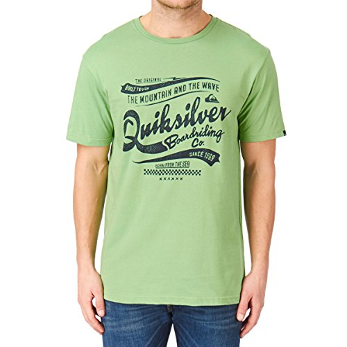 Quiksilver Classic T-Shirt manches courtes Homme Shamrock FR : S (Taille Fabricant : S)