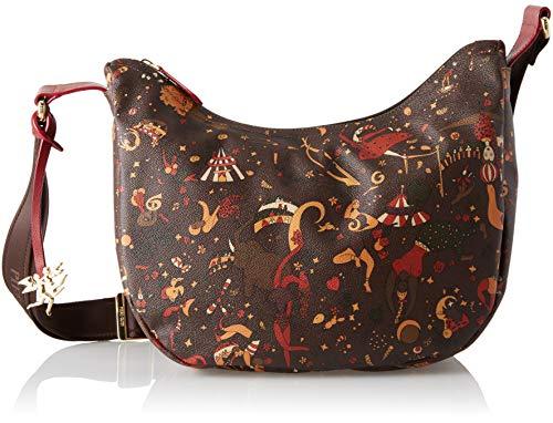 piero guidi Hobo, Borsa a Spalla Donna, Marrone (Marrone/Testa di Moro), 35x30x15 cm (W x H x L)