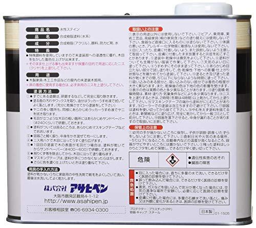 アサヒペン 水性ステイン チーク 2L