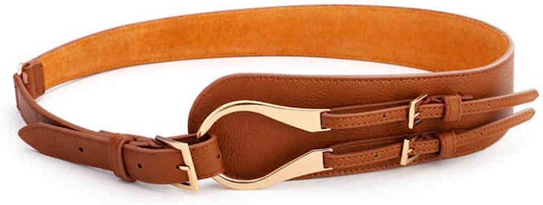 Autumn and Winter All-Match MS Wide Female Style Jacket Waist Belt Ladies Belt Belts (color   Camel)