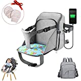 Picaru - Mochila cambiadora de pañales, bolsa de viaje impermeable para bebé,...