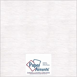 Paper Accents Chipboard 12 x 12 in. Extra Heavy White (25 sheets)