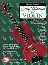 Easy Classics for Violin-with Piano Accompaniment