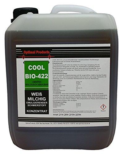 Optimal Kühlschmierstoff Cool-Bio 422 Konzentrat 5 Liter *formaldehydfrei*