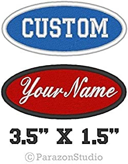 FORKLIFT CERTIFIED  NEW EMBROIDERED  IRON ON NAME PATCH RED ON WHITE