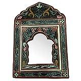 Decoración étnica espejo marco decorado puertas marroquí Oriental 1102211120