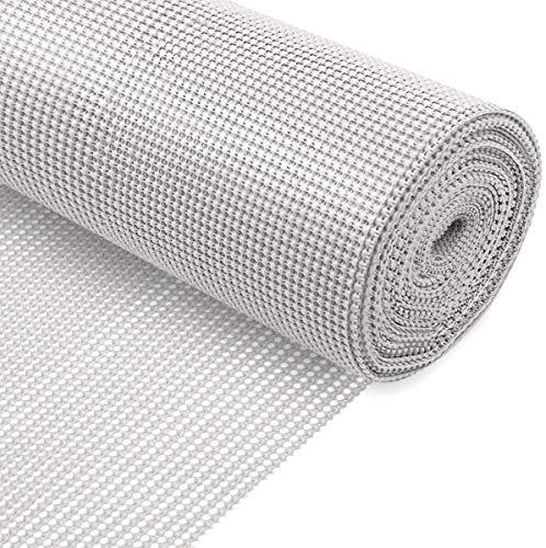 KOOCHUWAH Schubladeneinlage,Teppichunterleger,Antirutschmatte Anti Rutsch Teppich Nicht klebende (Weiß, 300x50cm)