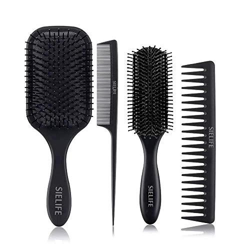 Comb and Brush Set Hairbrush Set...