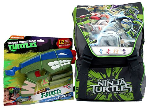 Zaino Estensibile Medium C/Gadget Turtles