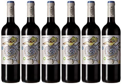 Comoloco Vino Tinto Monastrell - 6 Paquetes de 750 ml - Total: 4500 ml