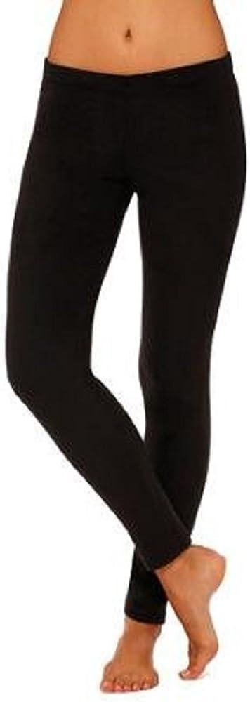 Climate Right Women's Max 65% OFF Direct store Stretch Underwear Leggings Bla Microfiber