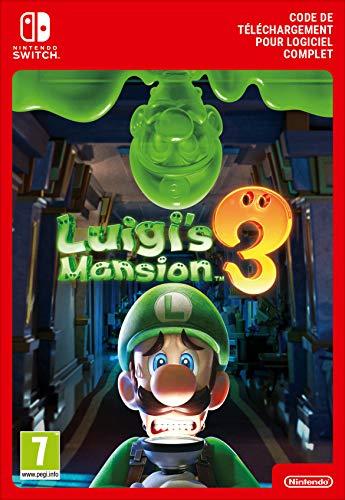 Luigi's Mansion 3 Standard   Nintendo Switch – Code jeu à télécharger