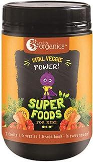 Nutra Organics Vital Veggie Power Super Powder Foods for Kidz 150 g, 150 grams