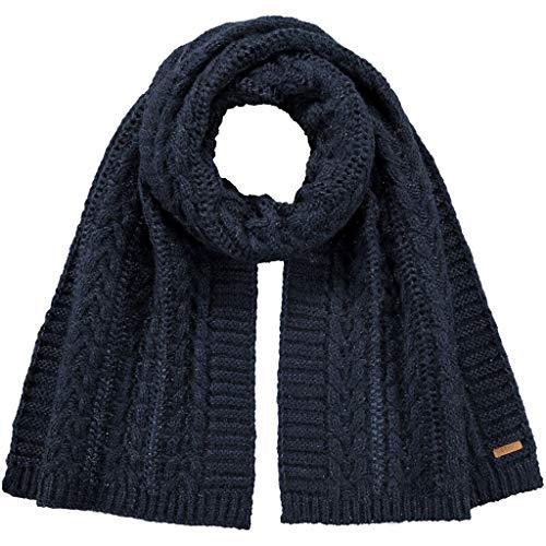 Barts Damen Anemone Scarf Schal, Blau (NAVY 0003), One size (Herstellergröße: UNI)