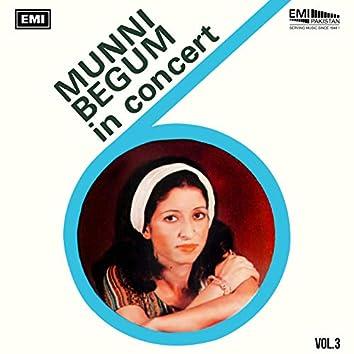 Munni Begum In Concert, Vol. 3 (Live)