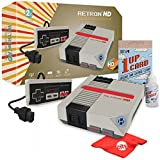 Hyperkin RetroN 1 HD Retro Video Gaming System Console for NES With Katamco 1UP Cleaning Kit and Circuit City Microfiber Cloth - Grey (M01888-GR)