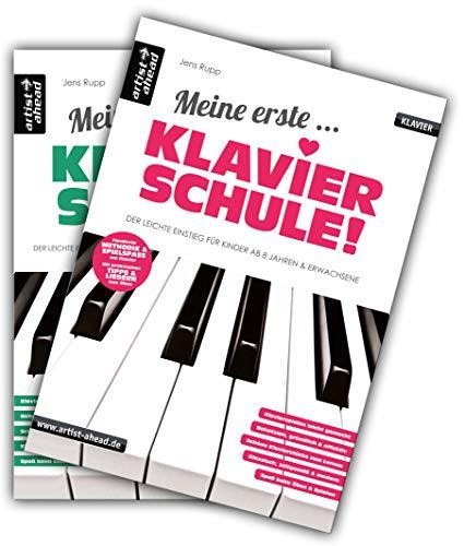 Meine erste Klavierschule & Meine zweite Klavierschule im Set! Lehrbuch für Piano. Klavierstücke....