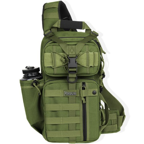 Maxpedition Gearslinger Sitka, Green, 10 liters, 0431