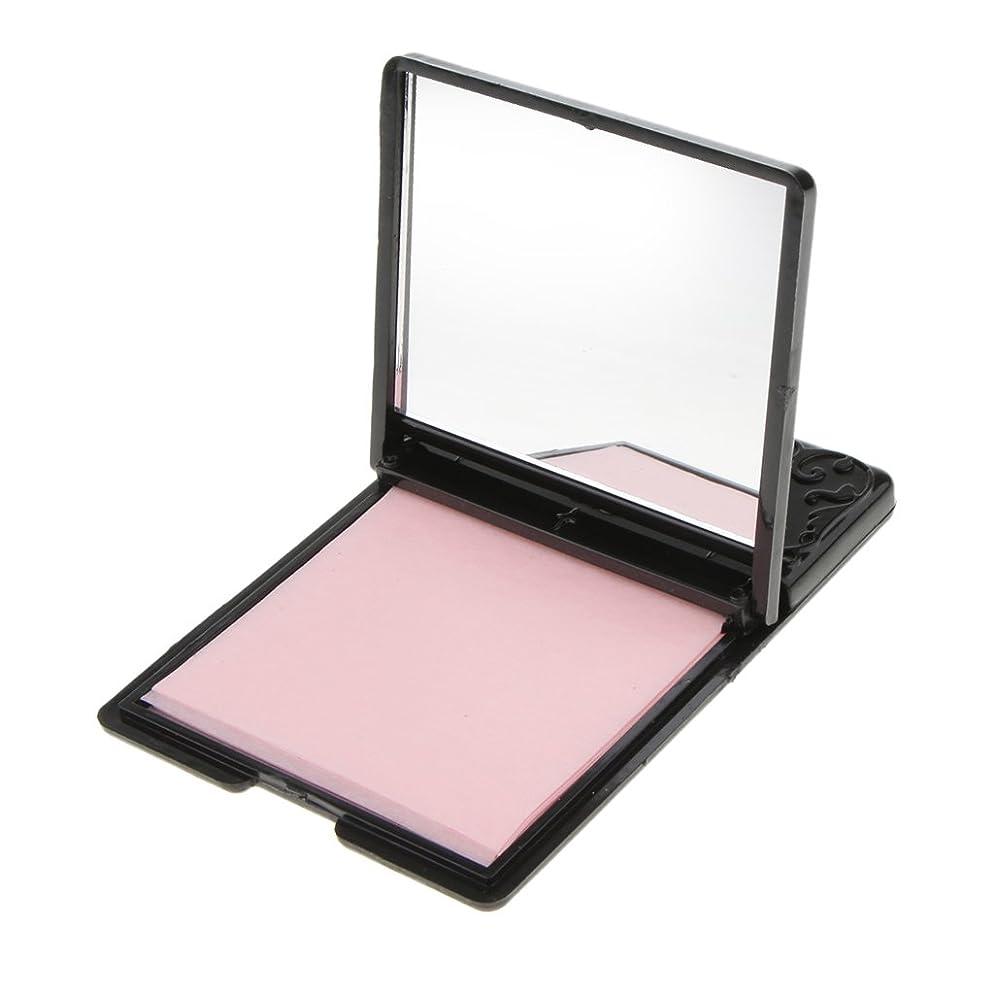 喜ぶ全能先生Baosity ミラーケース 化粧鏡 あぶらとり紙 オイル吸収ティッシュ 約50枚 持ち込み便利 夏用
